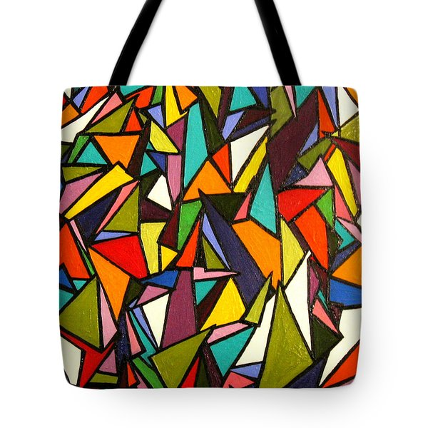 Pieces Tote Bag by Kerry Bennett