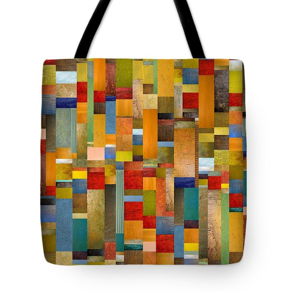 Pieces Parts Tote Bag by Michelle Calkins