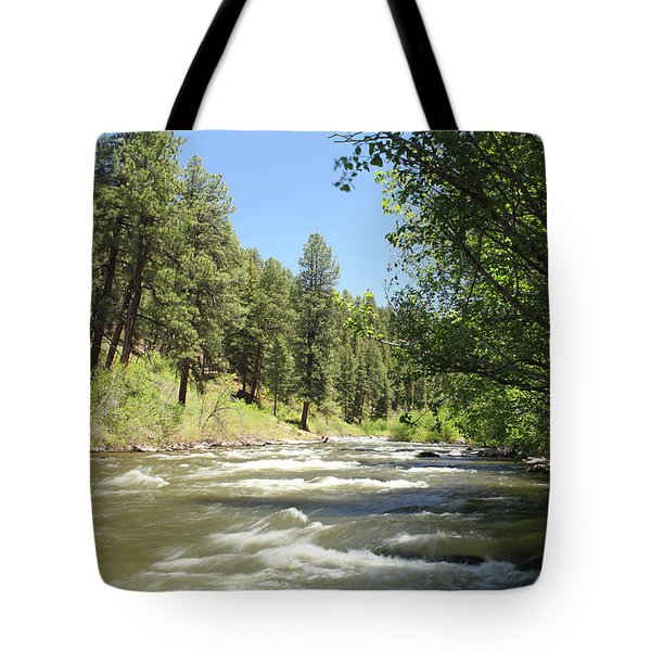 Piedra River Tote Bag by Eric Glaser