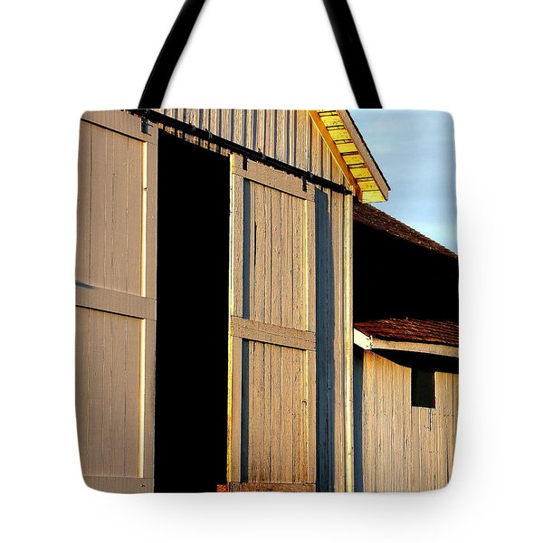 Pierce Point Ranch 16 Tote Bag by Wingsdomain Art and Photography