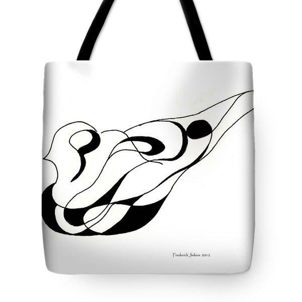 Pigeon Sculpture Tote Bag by Fred Jinkins