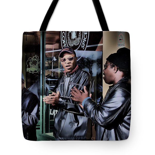 Pike Place Trio Tote Bag by David Patterson