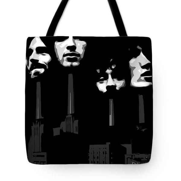 Pink Floyd No.02 Tote Bag by Caio Caldas