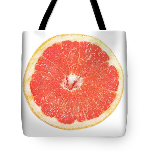 Pink Grapefruit Tote Bag by James BO  Insogna