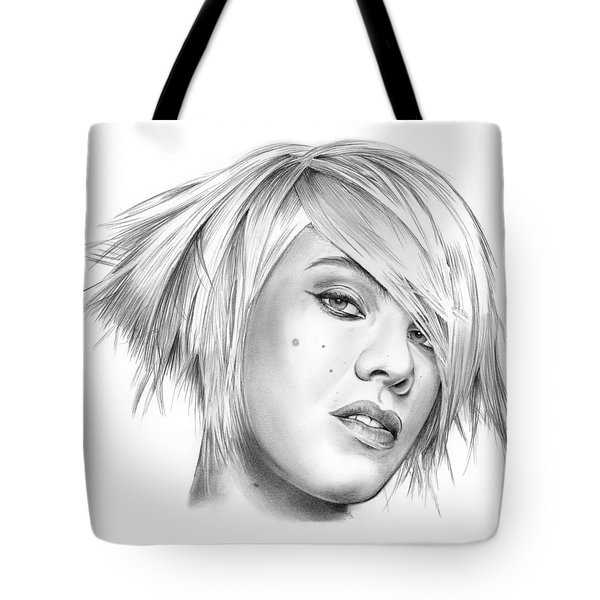 Pink Tote Bag by Greg Joens