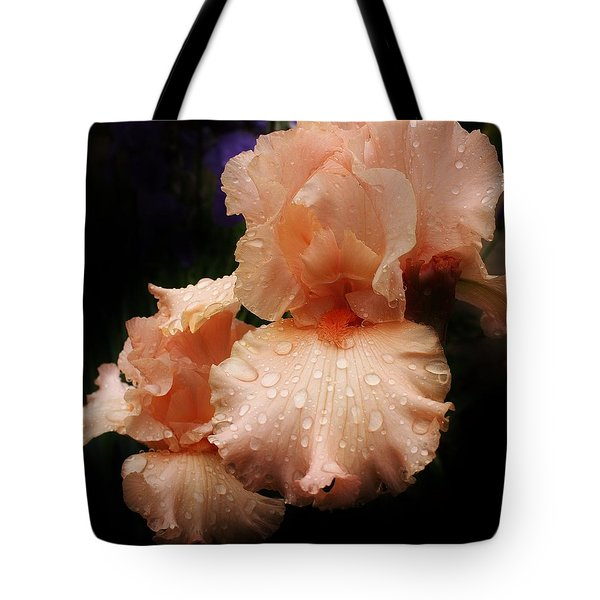Pink Iris 1 Tote Bag by Bruce Bley