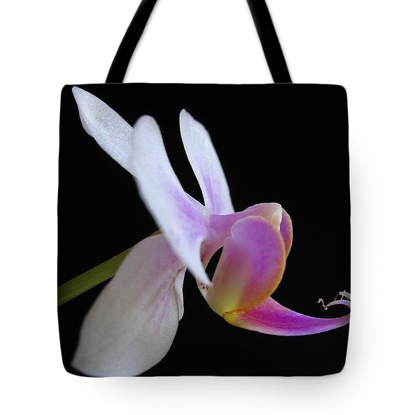 Pink Orchid Tote Bag by Juergen Roth