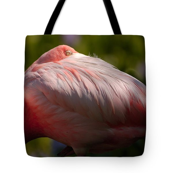 Pink Tote Bag by Sebastian Musial