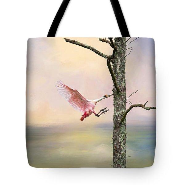 Pink Wonder Tote Bag by Bonnie Barry