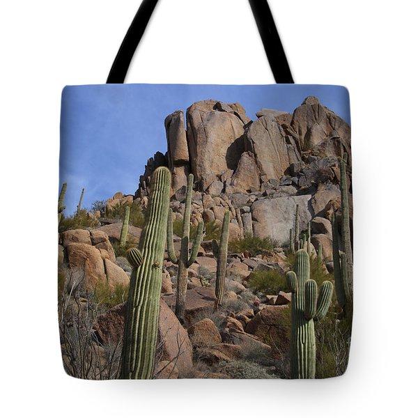 Pinnacle Peak landscape Tote Bag by James BO  Insogna