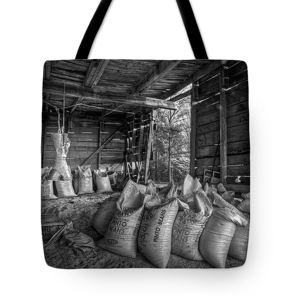 Pinto Beans Tote Bag by Debra and Dave Vanderlaan
