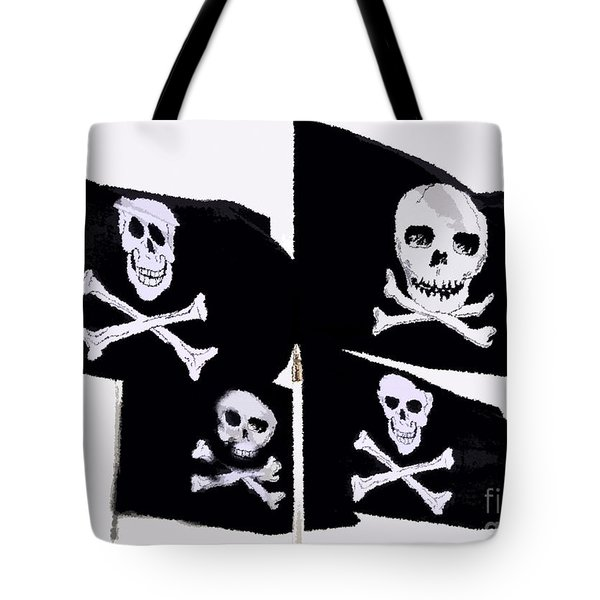 Pirate Flags Tote Bag by David Lee Thompson