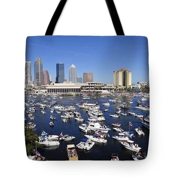 Pirate Invasion 2012 Tote Bag by David Lee Thompson