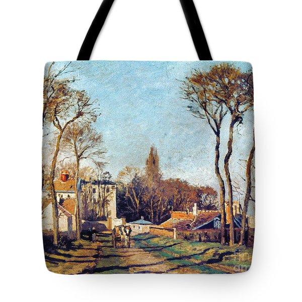 Pissarro: Voisins, 1872 Tote Bag by Granger