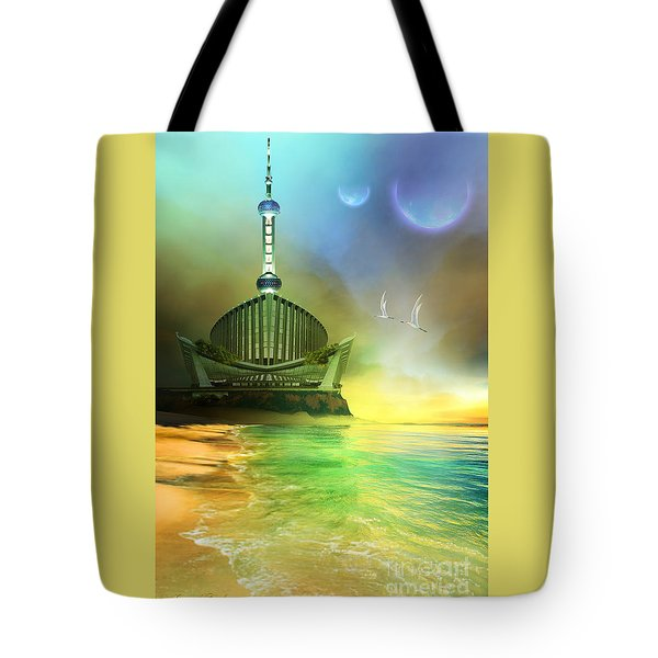 Planet Paladin Tote Bag by Corey Ford