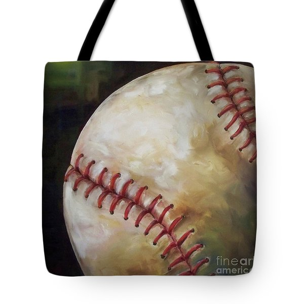 Play Ball Tote Bag by Kristine Kainer