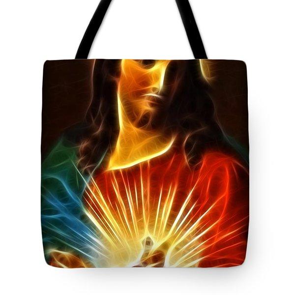 Please Believe in Me Tote Bag by Pamela Johnson