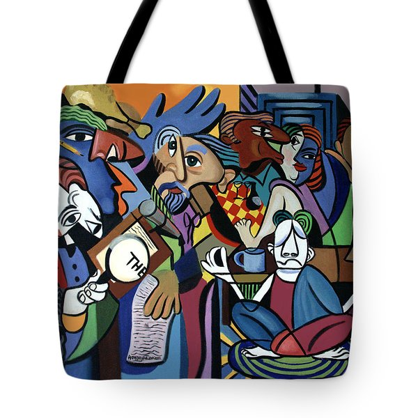 Poets Unleashed  Tote Bag by Anthony Falbo