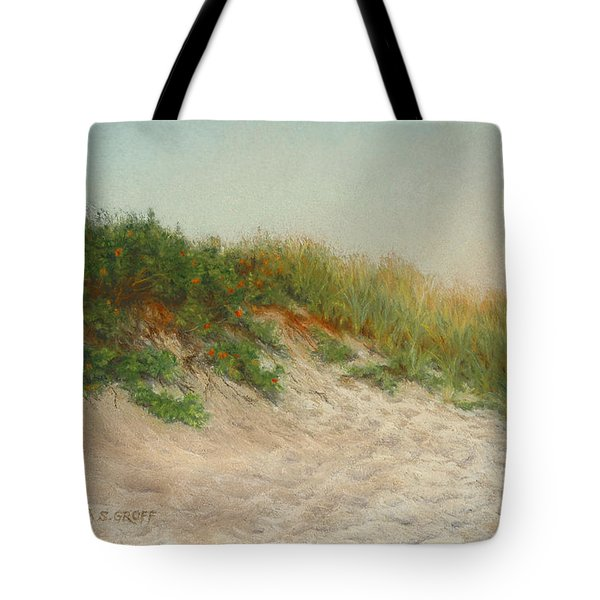 Point Judith Dunes Tote Bag by Barbara Groff