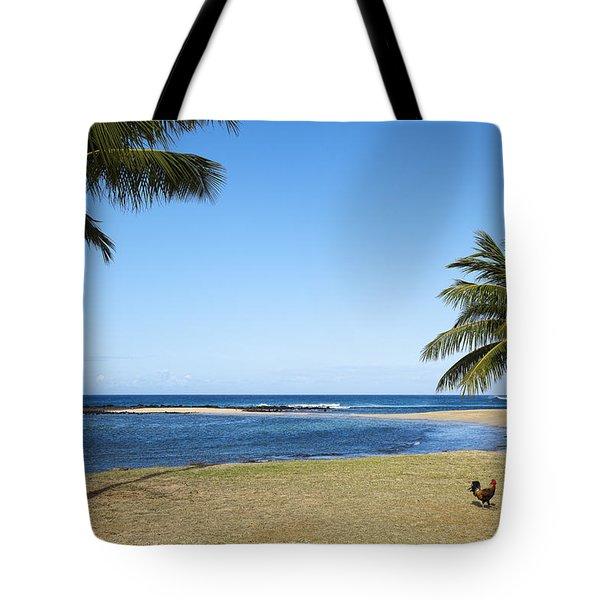 Poipu Beach Tote Bag by Kelley King