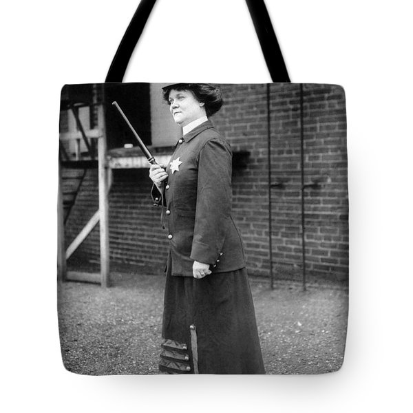 Policewoman, 1909 Tote Bag by Granger