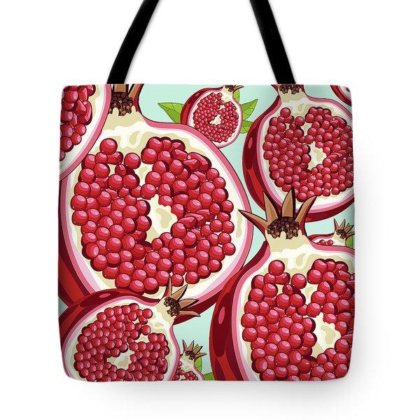 Pomegranate   Tote Bag by Mark Ashkenazi