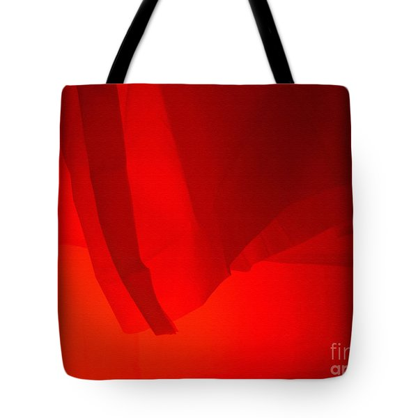 Poncho Abstract 7 Tote Bag by Jeff Breiman