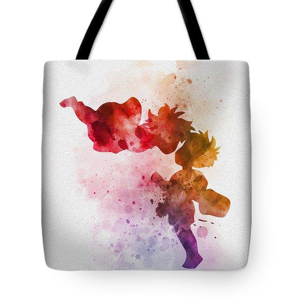 Ponyo Tote Bag by Rebecca Jenkins