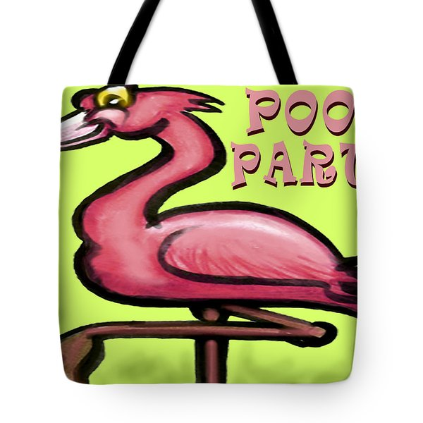 Pool Party Tote Bag by Kevin Middleton