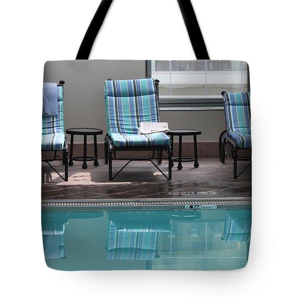 Pool Time Tote Bag by Lauri Novak