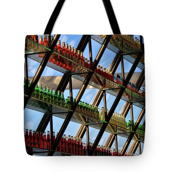 Pop's Bottles Tote Bag by Lana Trussell