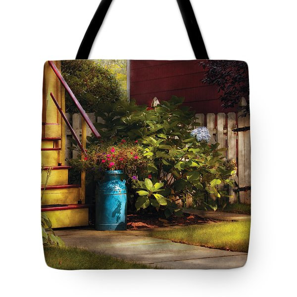 Porch - Summer Retreat Tote Bag by Mike Savad