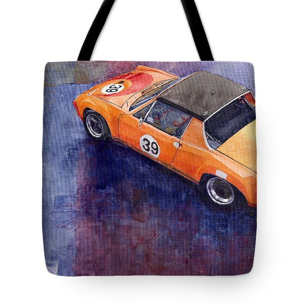 Porsche 914 Gt Tote Bag by Yuriy  Shevchuk