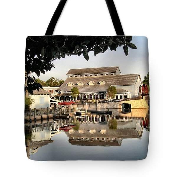 Port Orleans Riverside Tote Bag by Nora Martinez