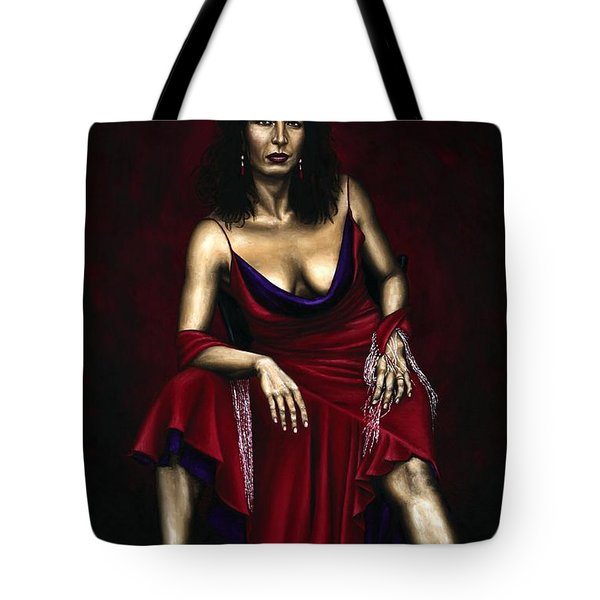 Portrait of a Dancer Tote Bag by Richard Young