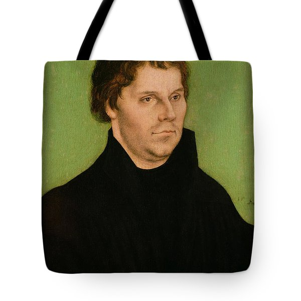 Portrait Of Martin Luther Tote Bag by Lucas Cranach the Elder