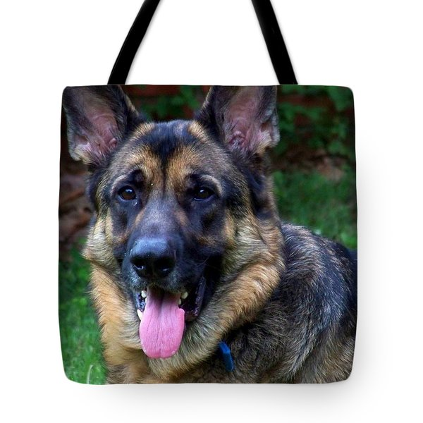 Portrait Of The Shepherd Tote Bag by Jai Johnson