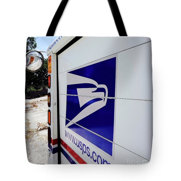 Post Office Truck Tote Bag by Kenneth Lempert
