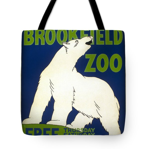 Poster For The Brookfield Zoo Tote Bag by Unknown