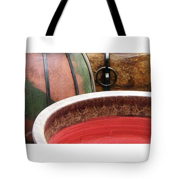 Pottery Abstract Tote Bag by Ben and Raisa Gertsberg
