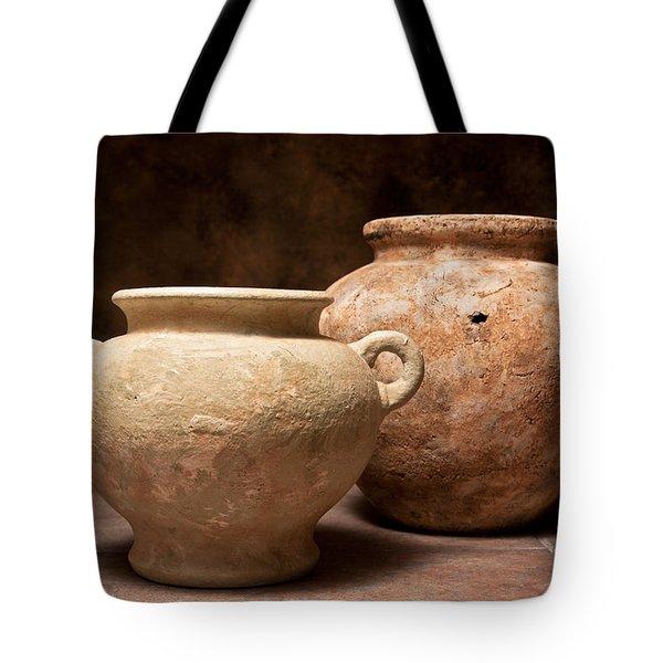 Pottery I Tote Bag by Tom Mc Nemar