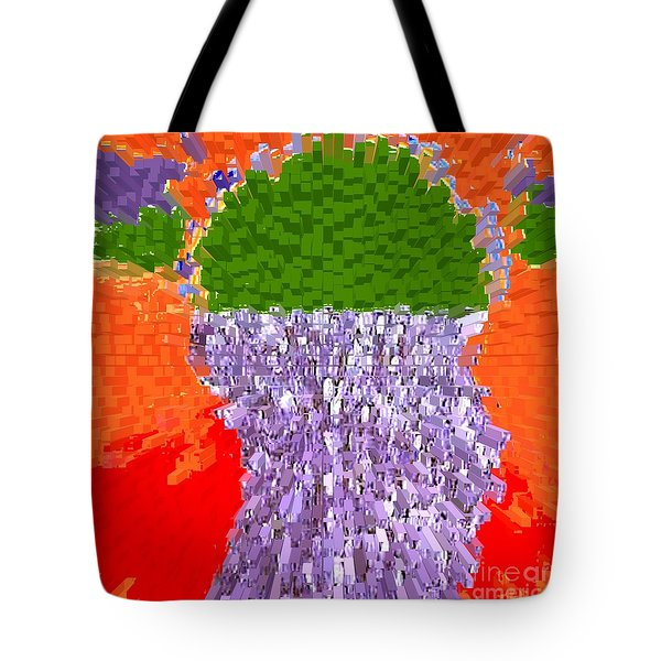 POURING OUT THE MIND Tote Bag by Patrick J Murphy