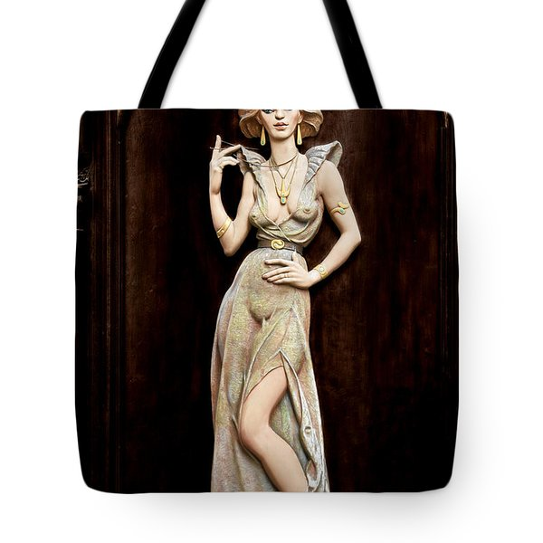 Prague - Mysteriously Beautiful Tote Bag by Christine Till