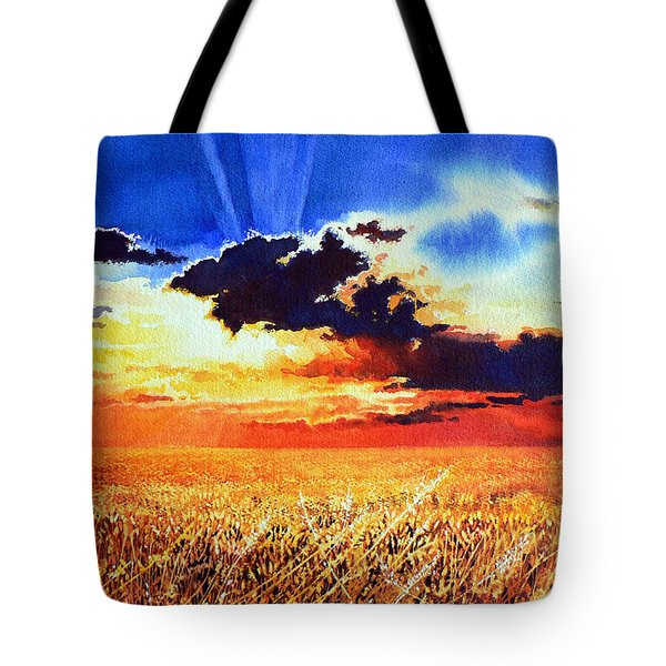 Prairie Gold Tote Bag by Hanne Lore Koehler