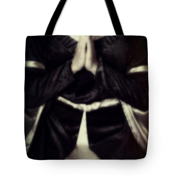Praying Tote Bag by Joana Kruse