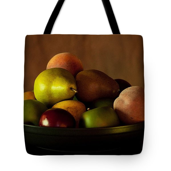 Precious Fruit Bowl Tote Bag by Sherry Hallemeier