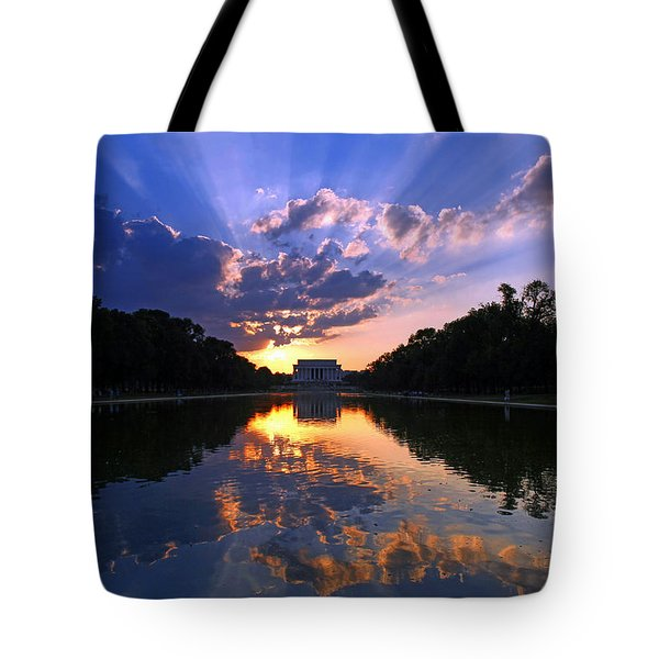 Preservation Of The Spirit Tote Bag by Mitch Cat