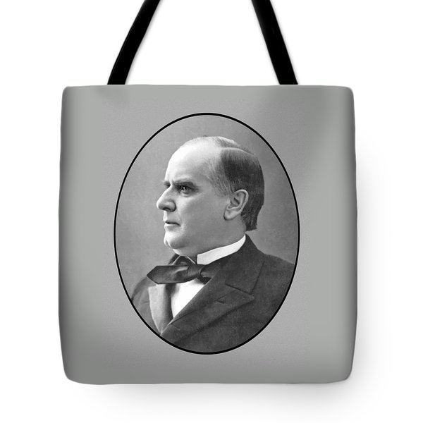 President Mckinley Tote Bag by War Is Hell Store