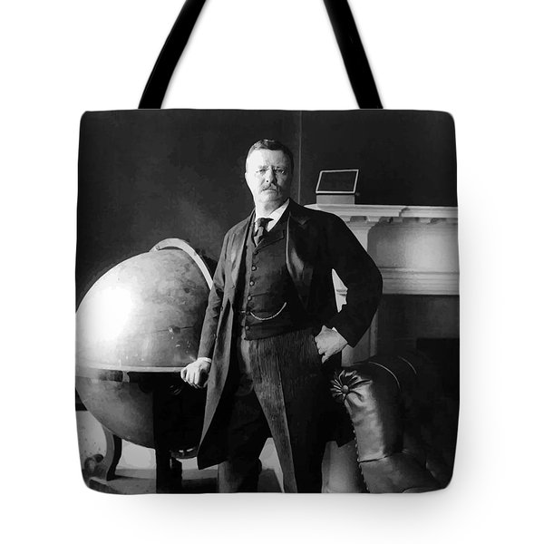 President Theodore Roosevelt Tote Bag by War Is Hell Store