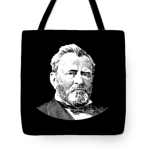 President Ulysses S. Grant Tote Bag by War Is Hell Store